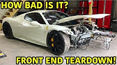 Rebuilding A Wrecked Ferrari 458 Spider Part 2