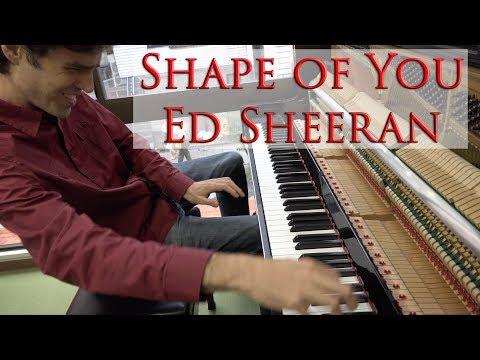 Shape of You - Serious Piano Cover - Sheet Music - Jacob Koller