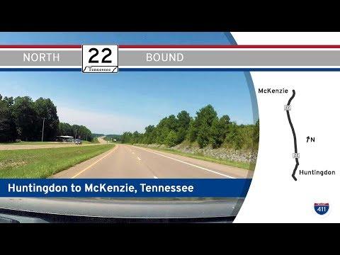 Tennessee Highway 22 - Huntingdon To McKenzie    Drive America's Highways 🚙
