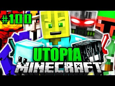 Die ULTIMATIVE ATTACKE!! - Minecraft Utopia #100 [Deutsch/HD]