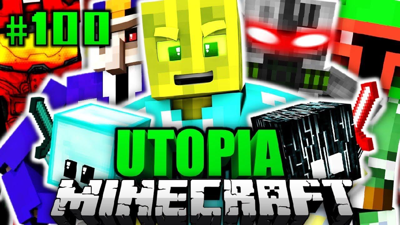 Die ULTIMATIVE ATTACKE Minecraft Utopia DeutschHD YouTube - Minecraft utopia spielen
