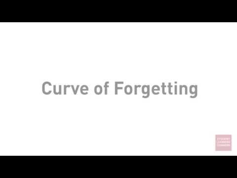 Academic Success: the Curve of Forgetting