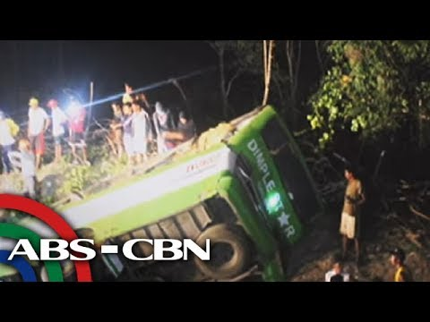 TV Patrol: Naaksidenteng Dimple Star bus, 'nawalan ng preno'