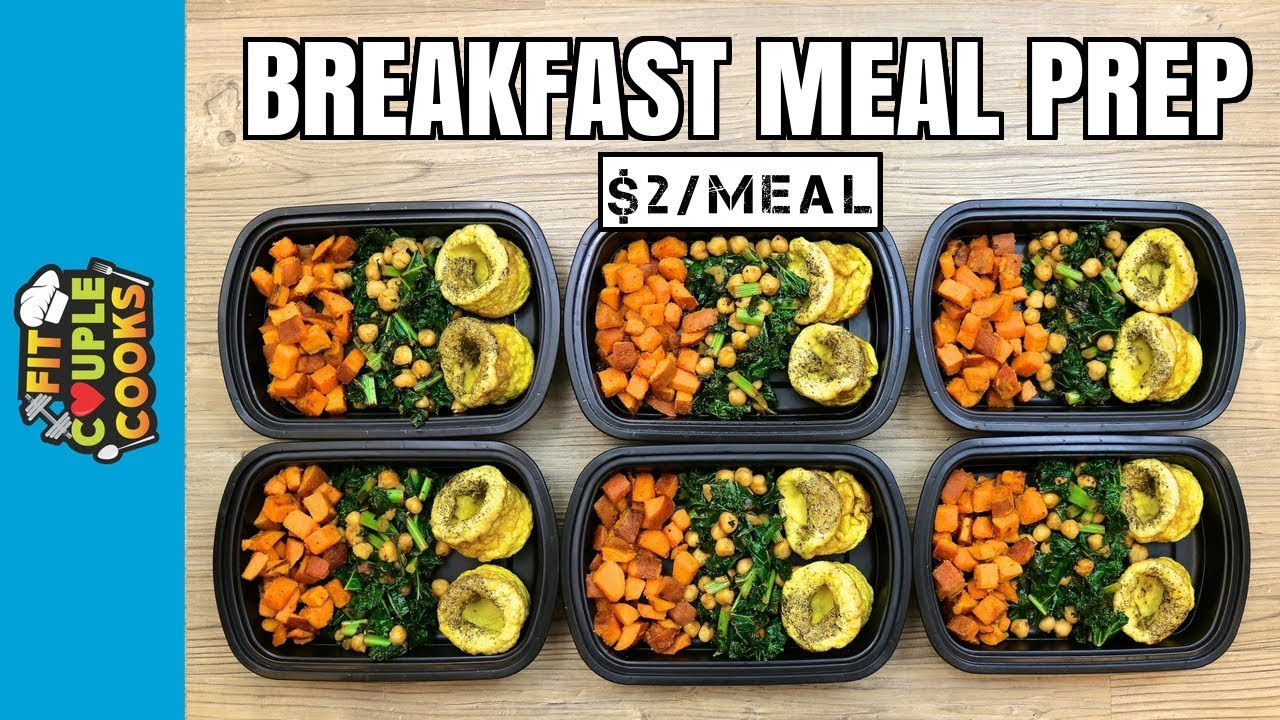 How to Meal Prep - Ep. 73 - BREAKFAST MEAL PREP (6 Meals