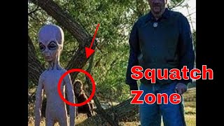 In the Squatch Zone!! Bigfoot seen in the Central Valley! Jan 13 2019