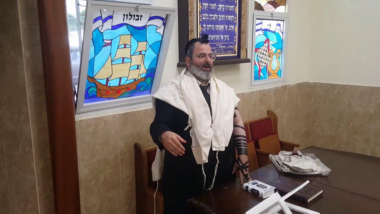 הרב יצחק לוי   רב העיר נשר   פסח שני  ברכת המצה לאחר הפסח