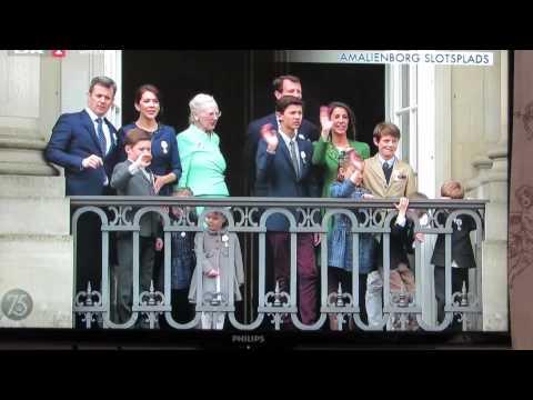 Dronning Margrethes 75 års fødselsdag...