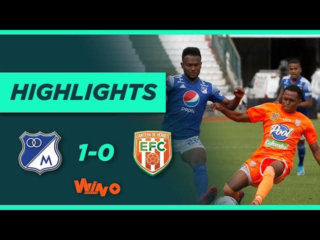 Millonarios vs. Envigado (Goles y highlights) |  Liga BetPlay Dimayor 2021   Fecha 1