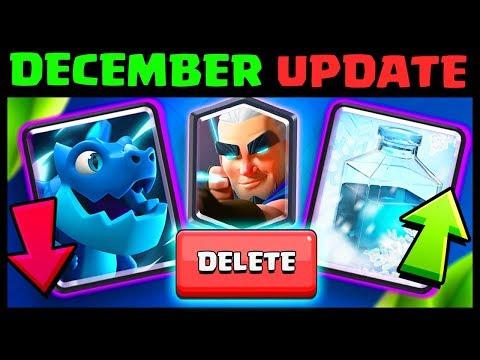 Balance Changes DECEMBER 3rd (12/3/18) | Clash Royale December Update