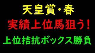 天皇賞春2021予想|馬場読み予想か?実績予想か?