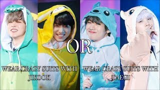 WOULD YOU RATHER #7 [BTS EDITION]