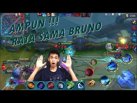 Late Game Bruno Berbahaya Banget – Bruno Build Review – Mobile Legends