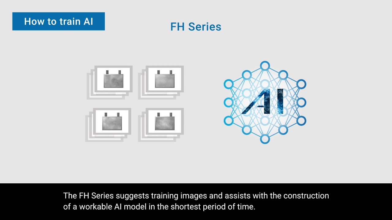 AI Fine Matching | FH-series Vision System