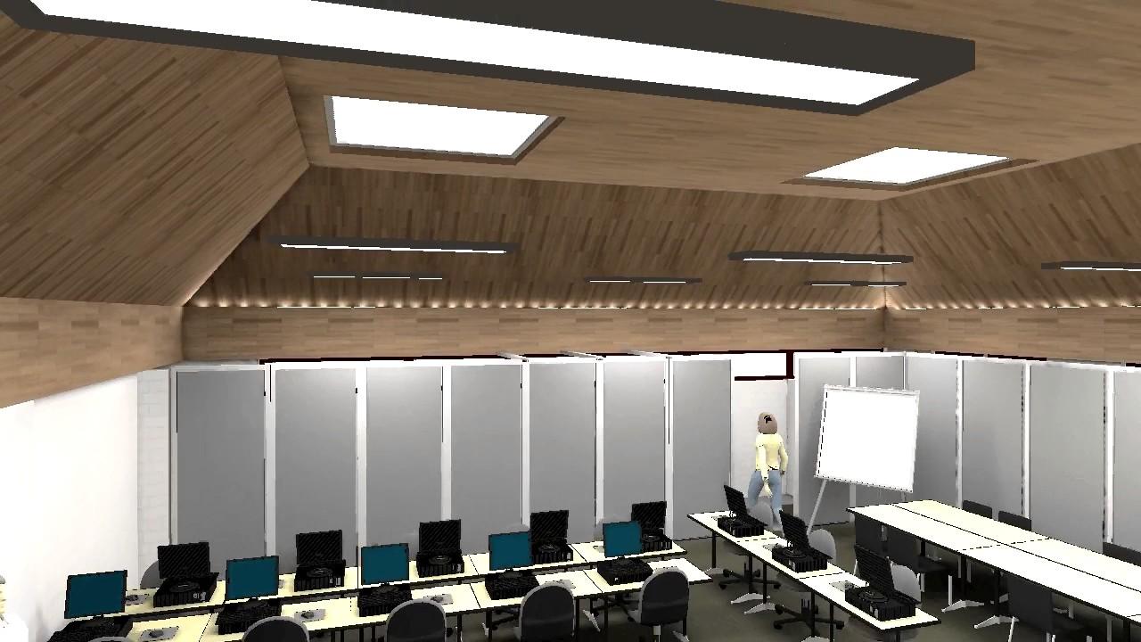 Classroom Lighting Design Standards ~ Litelite halesowen college classroom relux