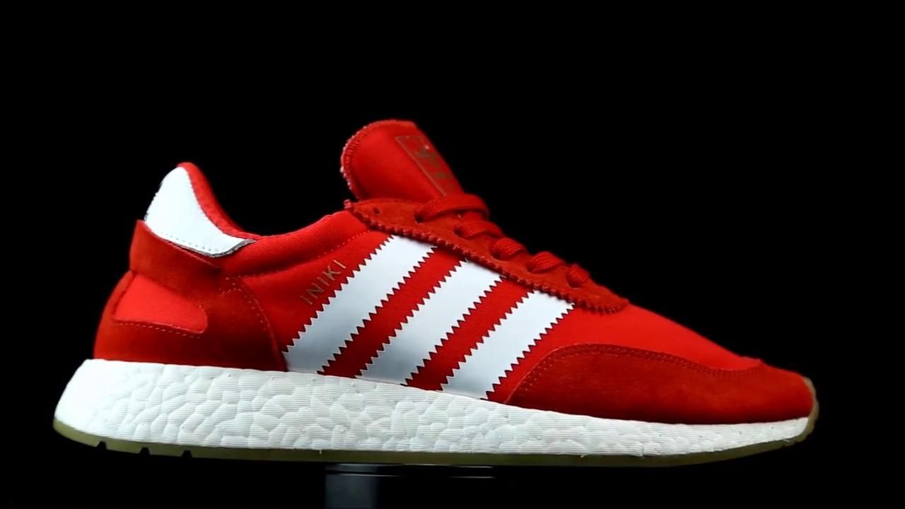 detailed look 146c8 93312 Adidas Originals Iniki Runner en rojo.