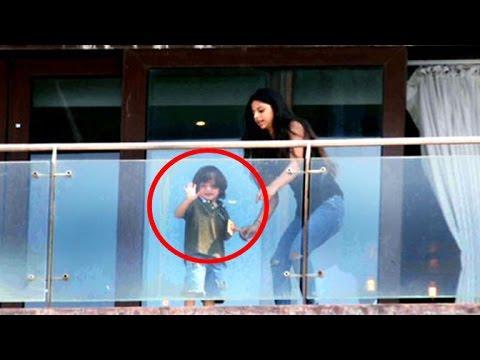 Shahrukh Khan's Cute Daughter Suhana With Abram Khan At Mannat On SRK's Birthday