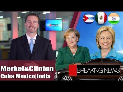 Clinton & Merkel | Mexico, India & Cuba | Uber Family