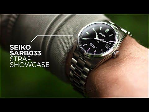 The Seiko SARB033 Has Never Looked This Good!- Seiko SARB033 Strap Showcase By WatchGecko