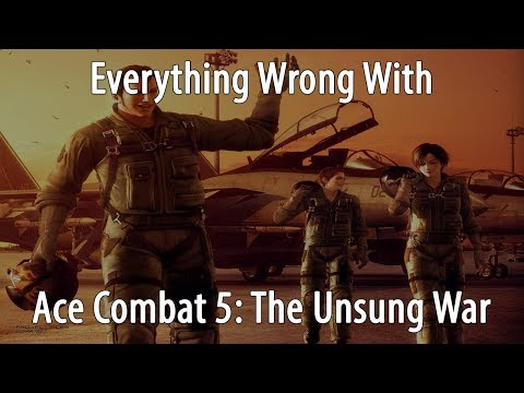 Everything Wrong With Ace Combat 5 In 30 Minutes Or Less