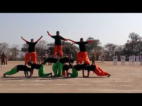 Patriotic dance performance (fusion)