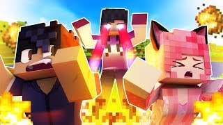 Minecraft, BUT What You Look At EXPLODES!