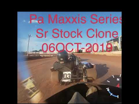 Pa Maxxis Series Race 6 BAPS Motor Speedway Clone Extra Heavy & Clone Sr Stock. - dirt track racing video image