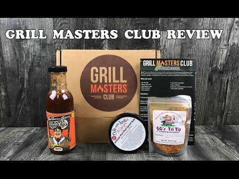Grill Masters Club Unboxing