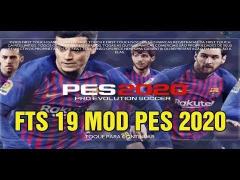 Best Mod Of 2020 FTS 19 MOD PES 2020 Android Offline 300MB Best Graphics New Update