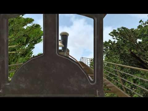 """[HD] ALPENEXPRESS """"ENZIAN"""" - Schwarzwald Express - Track View & OnRide"""
