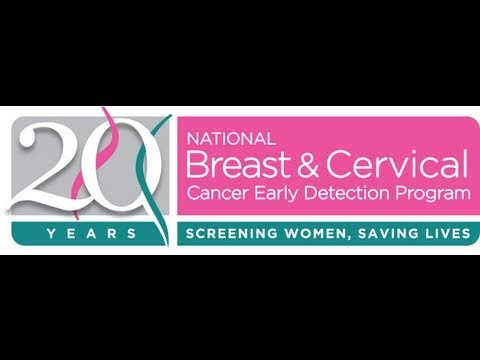 National Breast And Cervical Cancer Early Detection Program 20th Anniversary Video (5 Minutes)