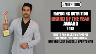 "GM Nutrition got ""Emerging Nutrition Brand Of The Year 2018"" Award - Thank You Everyone!"