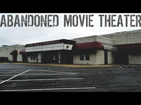 Abandoned Movie Theatre Exploration (Carmike Cinema)