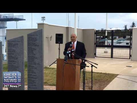 Robert Horton At Olympic Wall Ceremony, October 15 2016
