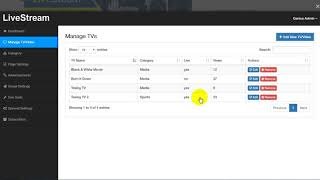 Video Free Download LiveStream - Online Video and Live Streaming Management System download MP3, 3GP, MP4, WEBM, AVI, FLV Agustus 2018