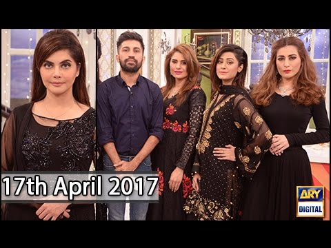 Good Morning Pakistan - 17th April 2017 - Wajid Khan Makeup Artist - ARY Digital