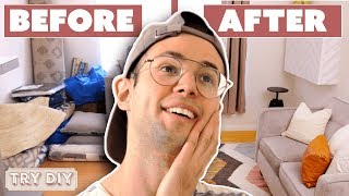 Download Zach's Surprise $2,500 Home Office Makeover • Try DIY Mp3 and Videos