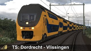 Train Simulator: Dordrecht - Vlissingen with NS VIRMm