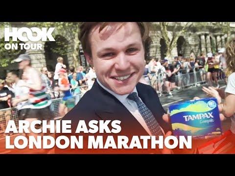 Archie Asks: The London Marathon 2018 | The Hook