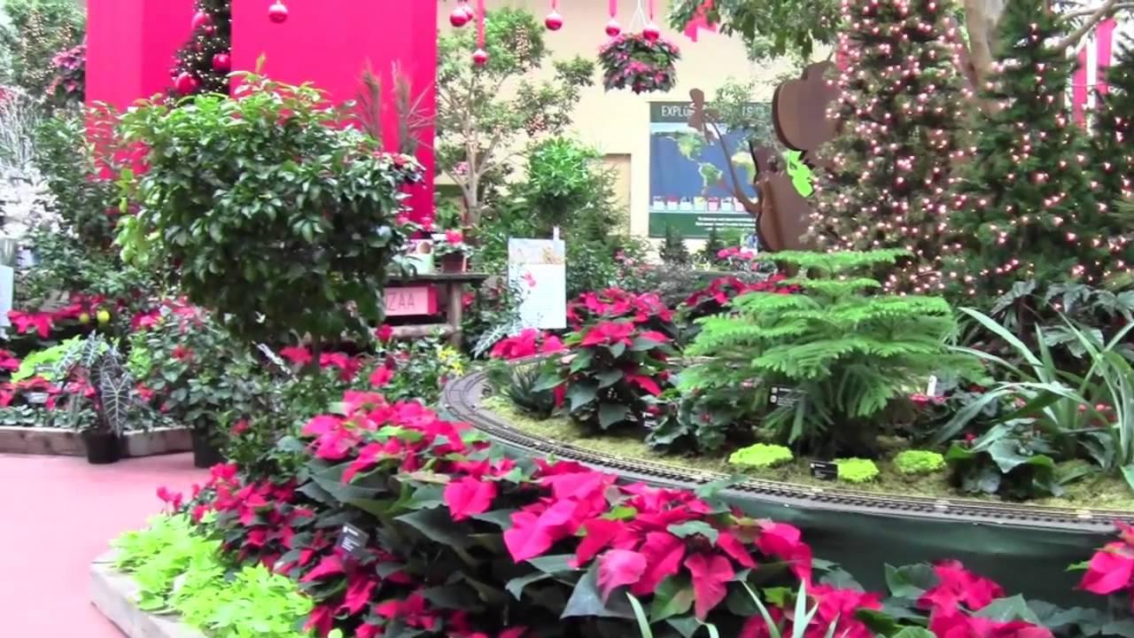 Captivating Creating The 2013 Gardenland Express Holiday Flower U0026 Train Show