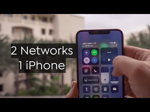 How To Setup Dual SIM IPhone With ESIM (iPhone XS/iPhone XS Max/iPhone XR)
