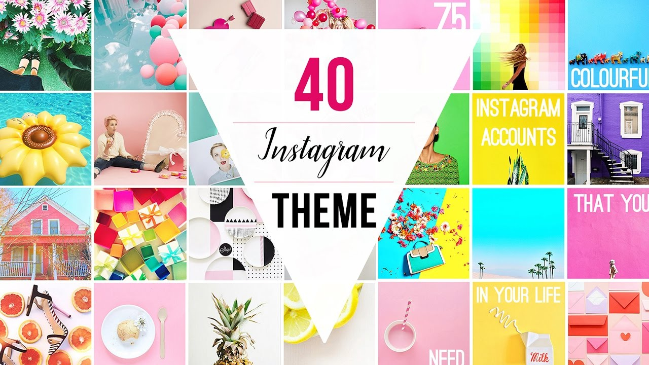 40 INSTAGRAM THEMES | Instagram Theme Ideas with VSCO + Settings