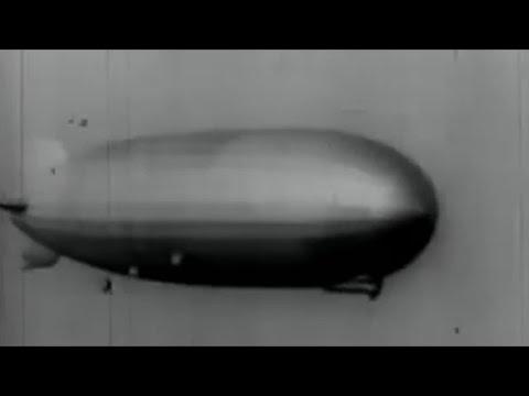 El Graf Zeppelin llega a Buenos Aires, 1934