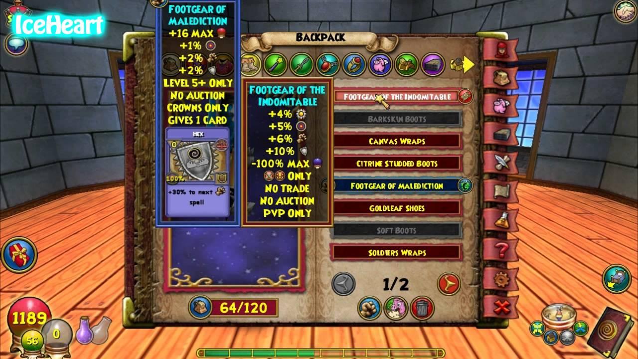 Wizard101 lvl 5 warlord