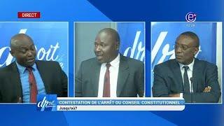 DROIT DE RÉPONSE( CONTESTATION DE L'ARRÊT DU CONSEIL CONSTITUTIONNEL : JUSQU'OÙ ?) 28 10 18