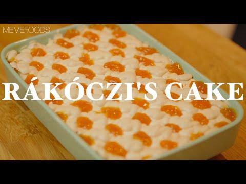 Gluten-Free Rákóczi's cake with cottage cheese (4K)