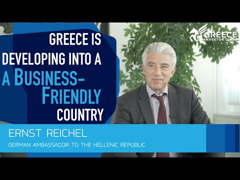 Ernst Reichel, German Ambassador to Greece - Greece Investor Guide (3)