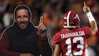 NFL Draft Analysis: Tua Tagovailoa - Part 1