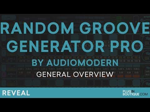 Random Groove Generator by Audiomodern | Make House Grooves Tutorial