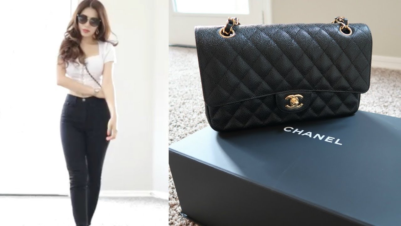 9d7d9f62a21b CHANEL CLASSIC FLAP UNBOXING MAY 2019 - YouTube