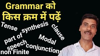 English grammar topics। Basic English learning। Tense, part of speech,clause, conjunctions.